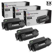 LD Remanufactured Toner Cartridge Replacement for HP 10A Q2610A (Black, 3-Pack)