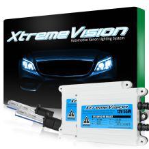 XtremeVision 55W AC Xenon HID Lights with Premium Slim AC Ballast - H1 8000K - 8K Medium Blue - 2 Year Warranty