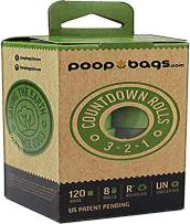 PoopBags Recycled 9x13 Dog Waste Bags- Doggie Poop Bags, Eco-Friendly on a Roll