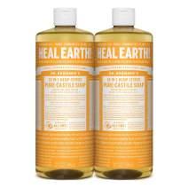 Dr. Bronner's - Pure-Castile Liquid Soap (Citrus, 32 Ounce, 2-Pack)