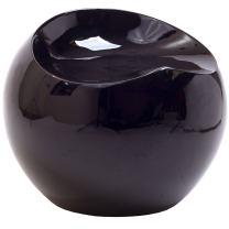 Modway Plop Stool in Black