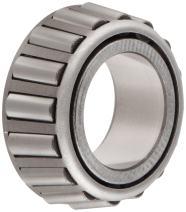 "Timken 3577 Tapered Roller Bearing, Single Cone, Standard Tolerance, Straight Bore, Steel, Inch, 1.6250"" ID, 1.2160"" Width"