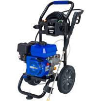 Duromax XP3100PWT 2.5 GPM Gas Powered Cold Water Power Pressure Washer, 3100 PSI