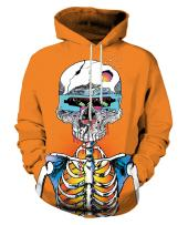 Neemanndy Unisex Graphic Print Hoodies 3D Colorful Novelty Design Long Sleeve Sweaters with Pocket