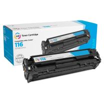 LD Remanufactured Toner Cartridge Replacement for Canon 116 1979B001AA (Cyan)