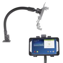"""iBOLT TabDock Flexpro - Heavy Duty Floor Mount for All 7"""" - 10"""" Tablets (iPad, Nexus, Samsung Galaxy Tab) for Cars, Vans, Large Trucks : Great for Telematics and Fleets"""