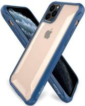 Procase iPhone 11 Pro Max Case, Hybrid TPU Bumper Cover with Corner Protection, Hard Protective Case for iPhone 11 Pro Max 2019 -Navy