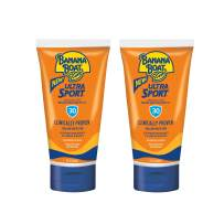 Banana Boat Ultra Sport Sunscreen Lotion, New Formula, SPF 30, 3 Ounce TSA Approved Travel Size (Pack of 2)