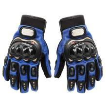 MUYDZ Upgraded Full Finger Knuckle Motorcycle Motorbike Powersports Racing Safety Gloves Outdoor Gloves for Men and Women