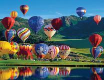Springbok's 1000 Piece Jigsaw Puzzle Balloon Bonanza