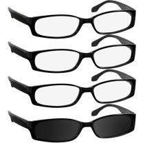 Fashion Reading Glasses for Women and Men - F503 Best Designer Readers with Comfort Spring Hinges-