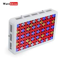 Wattshine LED Grow Light 1350W Full Spectrum High PAR Grow Light UV&IR Plant Light with On Off Switch Grow Lamp for Greenhouse and Indoor Planting Lighting