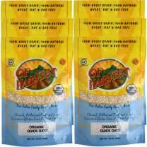 GF Harvest Gluten Free Organic Quick Oats, 20 Oz., 6 Count