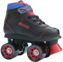 Chicago Boys Sidewalk Roller Skate - Black Youth Quad Skates