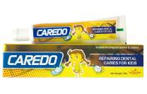 CAREDO Kid's ONLY Cure Tooth Decay Cavities Toothpaste, Repairing Dental Caries Toothpastes for Children, Fruit Flavor, 1.75 OZ Tubes
