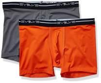 Evolve Men's Breathable Comfort Stretch Boxer Briefs
