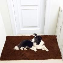 "Meilocar Dog Mat Ultra Absorbent Soft Floor Mat, Pet Bed Mat/Rug for Dogs & Cats, Bathroom Non-Slip Doormat, Machine-Washable,19""x31"", 23""x34"",31""x59"""