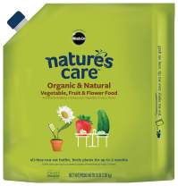 Nature's Care Organic & Natural Vegetable, Fruit & Flower Food, 3 lb.