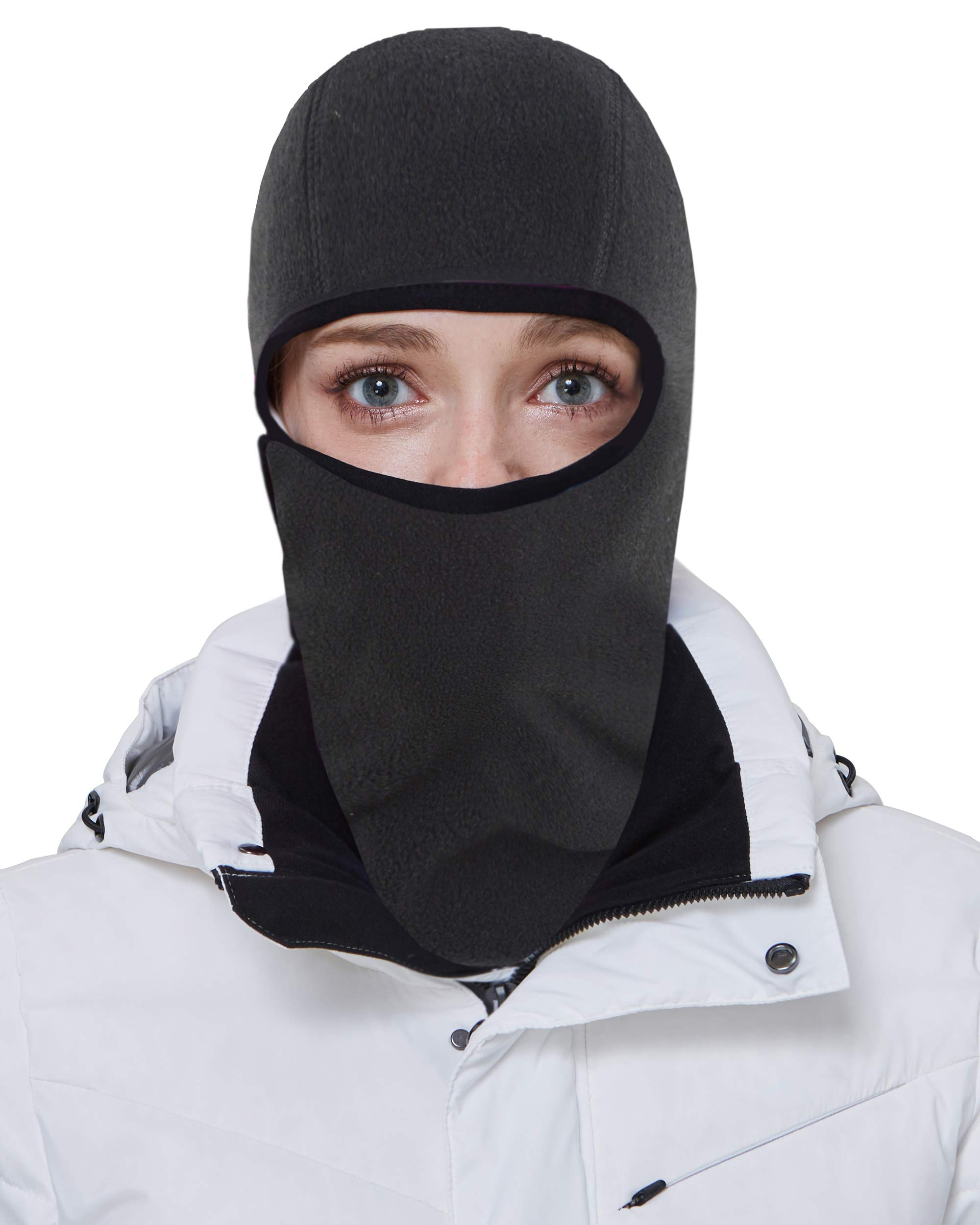 Women Men Mask Cover Mouth and Nose Winter Windproof Fleece Balaclava Face Mask Ski Mask Winter