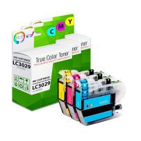 TCT Compatible Ink Cartridge Replacement for Brother LC3029 LC3029C LC3029M LC3029Y High Yield Works with Brother MFC-J5830DW, J5830DW XL, J6535DW Printers (Cyan, Magenta, Yellow) - 3 Pack