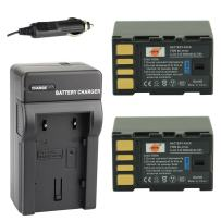 DSTE Replacement for 2X BN-VF823 Battery + DC36 Travel and Car Charger Adapter Compatible Jvc Everio GS-TD1 GY-HM70U GY-HM100U GY-HM150U GZ-HMZ1U GZ-MG230 GZ-MG255 GZ-MG275 GZ-MG330 GZ-MG335
