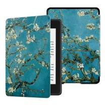 HUASIRU Water-Safe Case for All-New Kindle Paperwhite (10th Gen - 2018 Release only—Will Not fit Prior Gen Kindle Devices), Almond Blossom