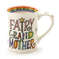 "Our Name is Mud ""Fairy Grandmother"" Stoneware Coffee Mug, 16 oz."