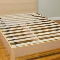 Continental Matress 0.75-Inch Standard Mattress Support Wooden Bunkie Board/Slats,Queen Size