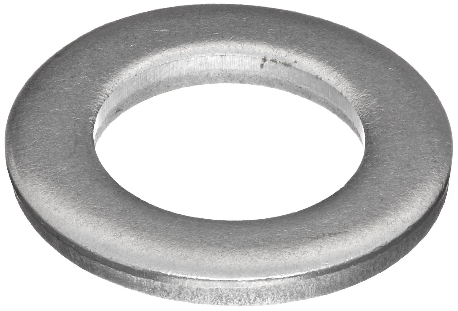 """C1006/C1020 Steel Round Shim, Unpolished (Mill) Finish, #1-5 Temper, ASTM A1008/ASTM A1011, 0.048"""" Thickness, 7/8"""" ID, 1-3/4"""" OD (Pack of 25)"""