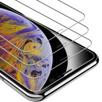 """UNBREAKcable iPhone Xs Max Screen Protector, iPhone 11 Pro Max Screen Protector [3 Pack, 6.5""""] 9H Hardness Tempered Glass Screen Protector for iPhone Xs Max/ 11 Pro Max, Case Friendly, Anti-Scratch"""