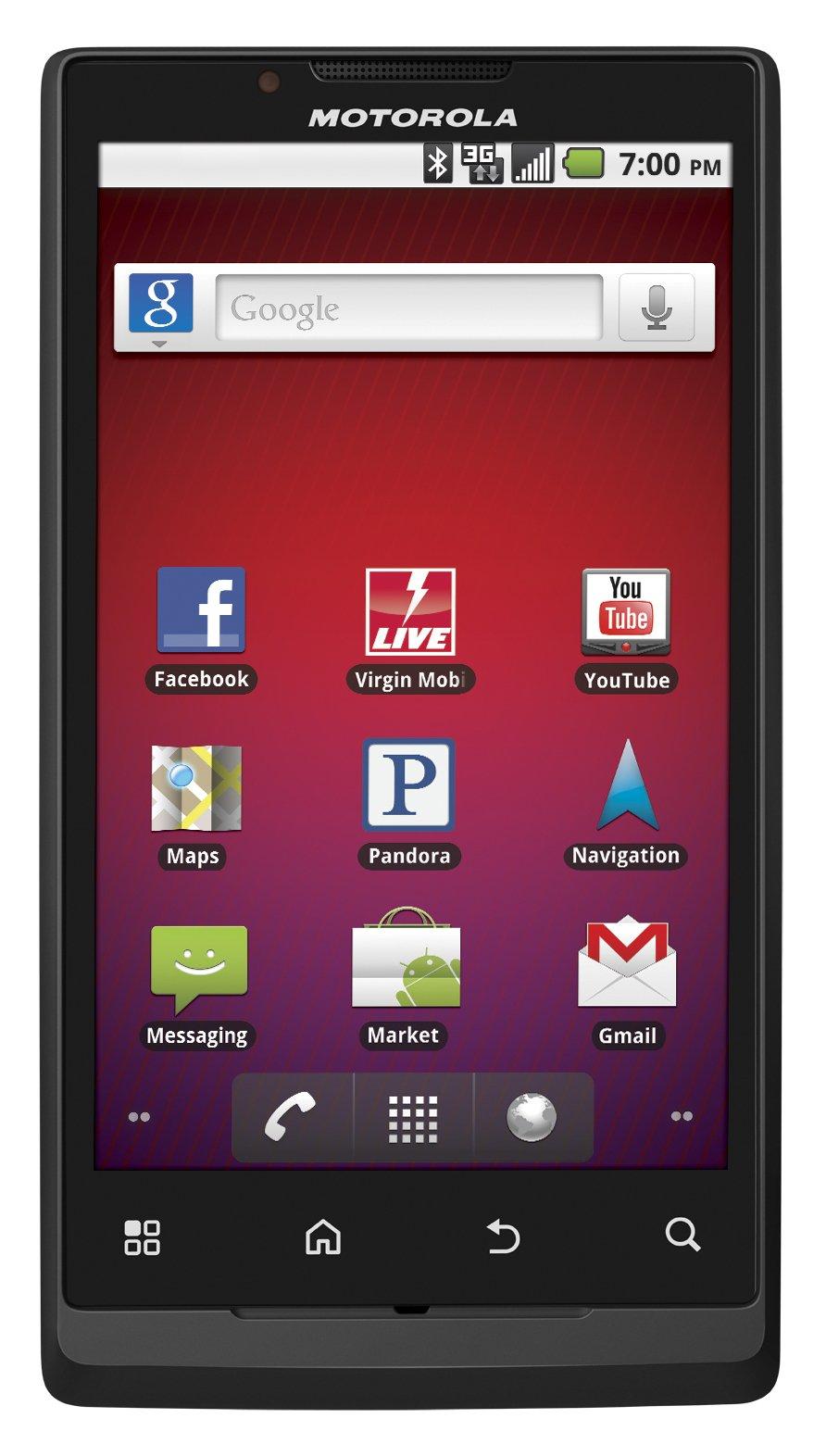 Motorola Triumph Prepaid Android Phone (Virgin Mobile)