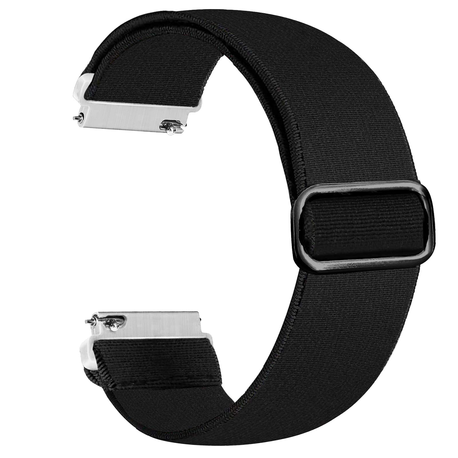 Panrock 20mm/22mm Watch Band, Adjustable Stretchy Watch Band Elastic Replacement Strap for Women Man
