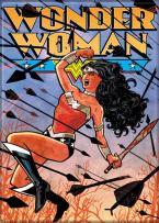 "Ata-Boy DC Comics Wonder Woman The New 52 No. 1 Cliff Chiang Art 2.5"" x 3.5"" Magnet for Refrigerators and Lockers"