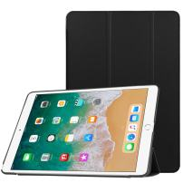 """Fintie Case for iPad Air 10.5"""" (3rd Gen) 2019 / iPad Pro 10.5"""" 2017 - [SlimShell] Ultra Lightweight Standing Protective Cover with Auto Wake/Sleep, Black"""