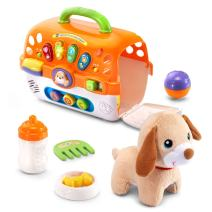 VTech Care for Me Learning Carrier Toy, Orange, Great Gift for Kids, Toddlers, Toy for Boys and Girls, Ages Infant, 1, 2, 3