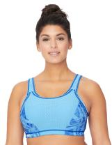 Glamorise Women's Elite Performance Adjustable Wirefree Sport Bra #1167