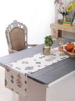 """Plush Home Table Runner - Royal Vintage, 100% Cotton of Size 14"""" X 72 Inch, Eco - Friendly & Safe."""