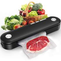 adofi Vacuum Sealer Machine,Food Vacuum Air Sealing System for Food Saver Storage w/Starter Kit,Vacuum Air Sealing System with Compact Design/Dry & Moist Food Modes/Vide Cooking