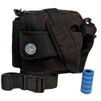 Jasper Swag Premium Dog Walking Bag, Fanny Pack Waterproof Purse with Water Bottle Holder | Dog Walking, Training, Travel, Dog Treat Pouch | Nylon Crossbody Messenger Body Bag