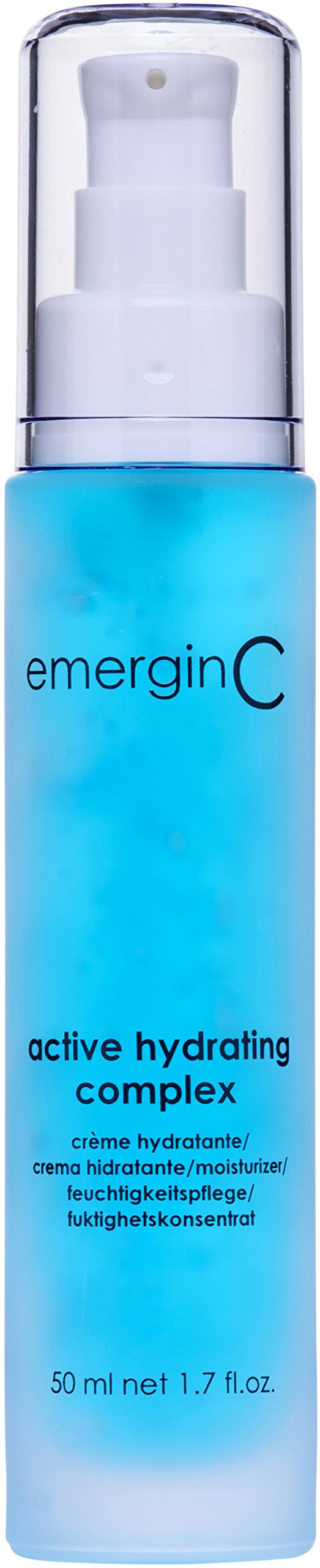 emerginC Active Hydrating Complex - Soothing Oil-Free Mattifying Gel Moisturizer for Oily, Dry + Sensitive Skin (1.6 Ounces, 50 Milliliters)