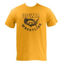 Iowa USA Wrestling, Hawkeyes, University of Iowa T-Shirt