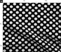 Spoonflower Fabric - Volleyballs, One Inch, Black, White, Balls, Sports, Athletes, Printed on Chiffon Fabric by The Yard - Sewing Fashion Apparel Dresses Home Decor