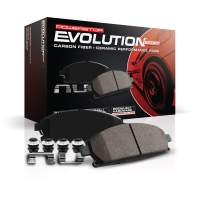 Power Stop Z23-332, Z23 Evolution Sport Carbon-Fiber Ceramic Rear Brake Pads