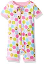 The Children's Place Baby Girls' Long Sleeve One-Piece Pajamas 3