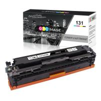 GPC Image Compatible Toner Cartridge Replacement for Canon 131 CRG 131 to use with ImageClass LBP7110Cw MF8280Cw Toner MF628Cw MF624Cw MF8280Cw Color Laser Printer (Black, 1 Pack)