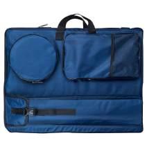 "Transon Artist Portfolio Backpack Bag Water Resistant Size 24.8""x 19"" Navy Blue"