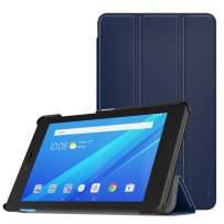 MoKo Case for Lenovo Tab E7, Ultra Compact Protection Slim Lightweight Smart Shell Stand Cover for Lenovo Tab E7 7 Inch 2018 Release Tablet - Indigo