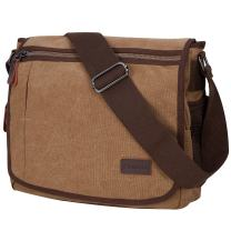 Laptop Messenger Bag for Men, Modoker Mens Canvas Vintage Shoulder Satchel Crossbody Bags