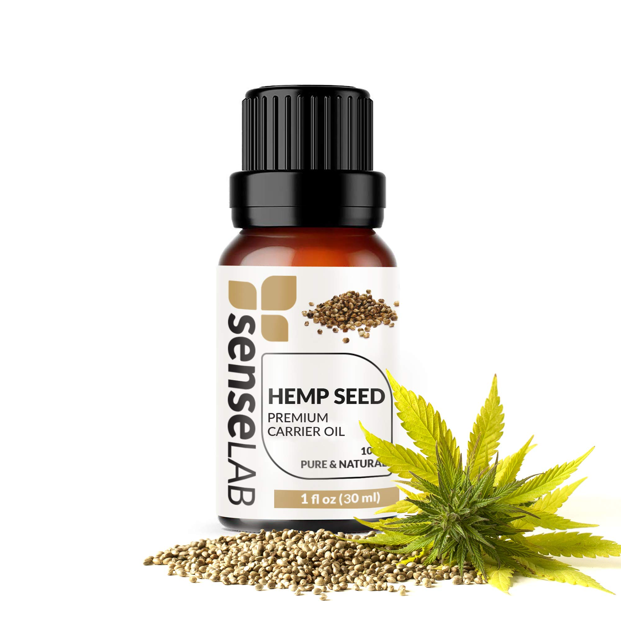 Hemp Seed Oil 100 Pure Extract Hemp Seed Carrier Oil Therapeutic Grade 1 Fl Oz 30 Ml