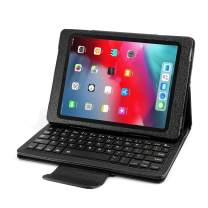 YOUNGFUN iPad Keyboard Case for iPad Pro 11 inch 2018, Detachable Wireless Bluetooth Case with Keyboard, Luxury PU Leather Cover, Auto Sleep/Awake [Apple Pencil Charging Supported]